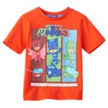 "Toddler Boy PJ Masks Owlette, Catboy & Gekko ""We're On Our Way Into the Night to Save the Day!"" Graphic Tee"