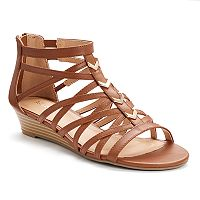 Apt. 9® Women's Wedge Gladiator Sandals