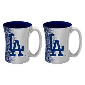 Boelter Los Angeles Dodgers Mocha Coffee Mug Set
