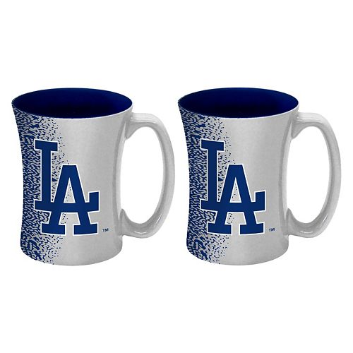 Boelter Los Angeles Dodgers Mocha Coffee Mug Set