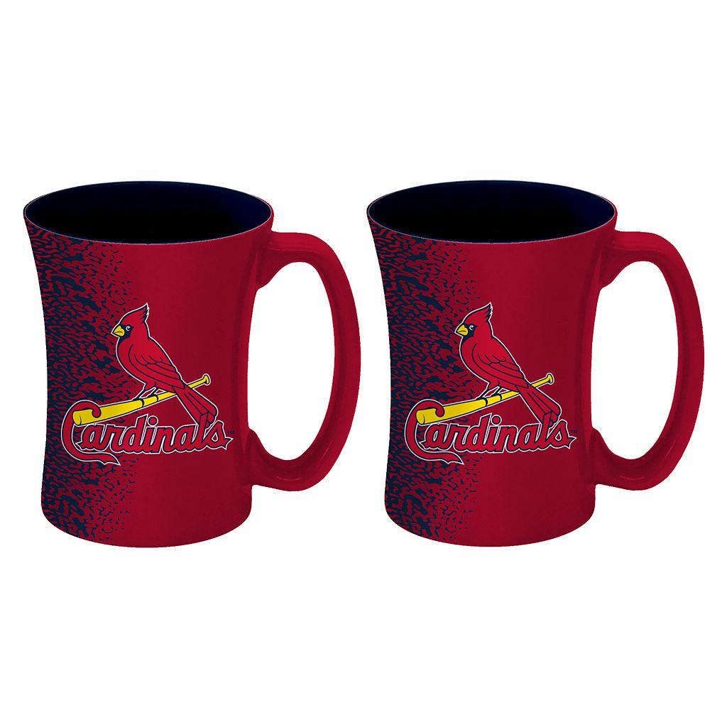 Boelter St. Louis Cardinals Mocha Coffee Mug Set