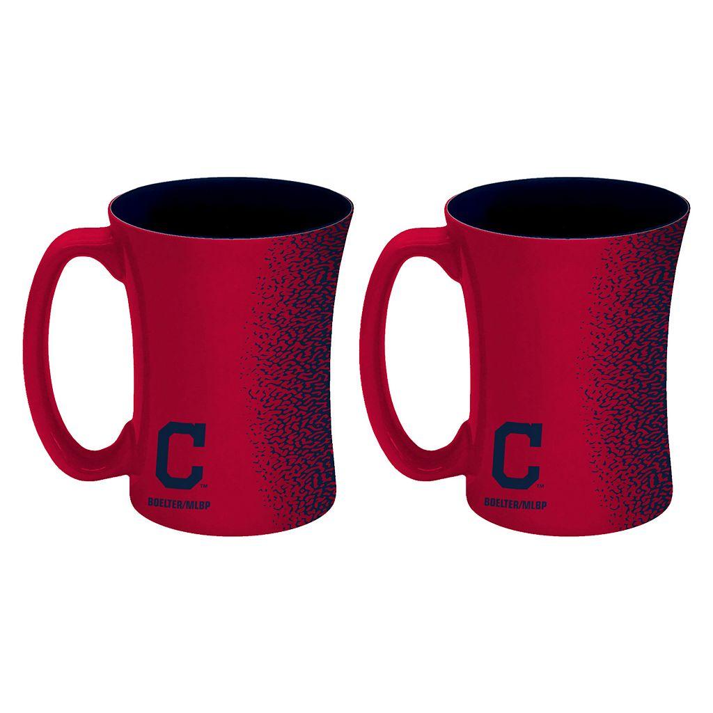 Boelter Cleveland Indians Mocha Coffee Mug Set