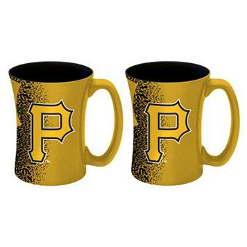 Boelter Pittsburgh Pirates Mocha Coffee Mug Set