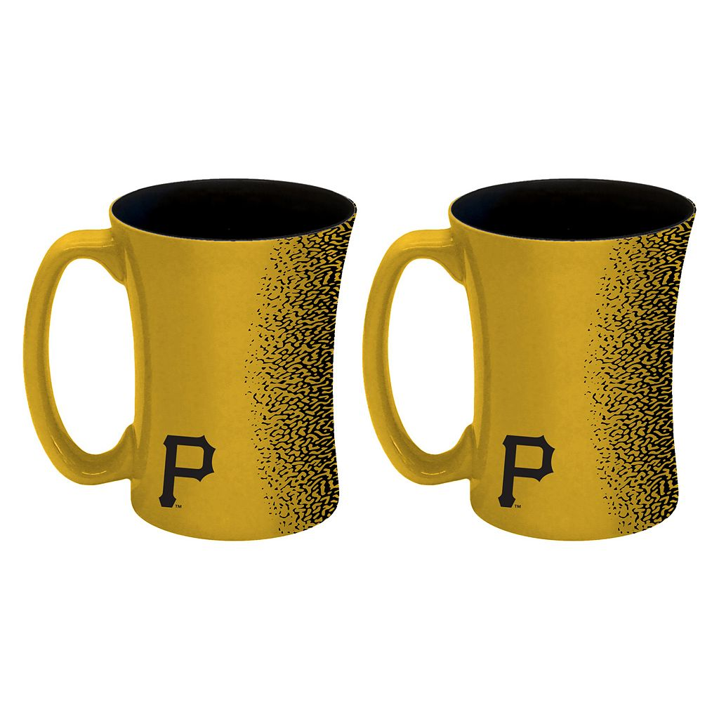 Boelter Pittsburgh Pirates Mocha Coffee Mug Set