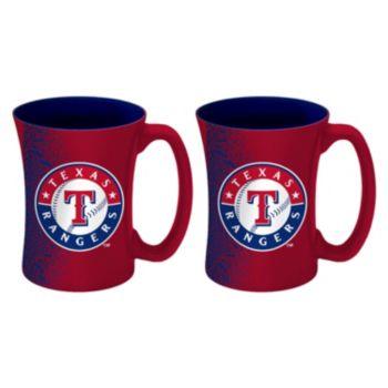 Boelter Texas Rangers Mocha Coffee Mug Set