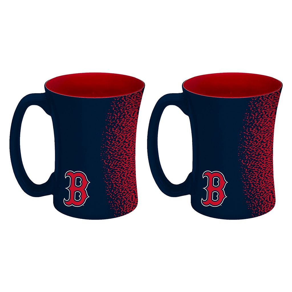 Boelter Boston Red Sox Mocha Coffee Mug Set