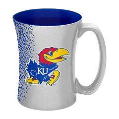 Boelter Kansas Jayhawks Mocha Coffee Mug Set