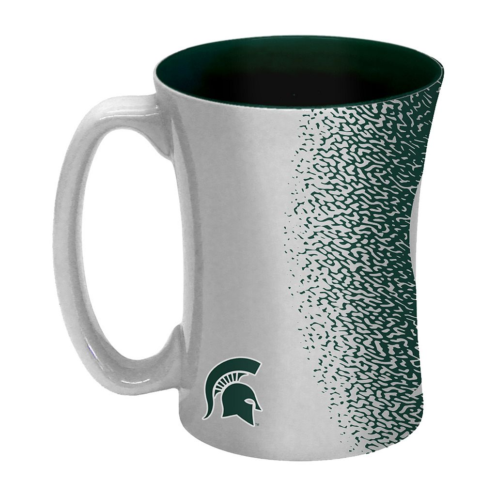 Boelter Michigan State Spartans Mocha Coffee Mug Set