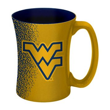 Boelter West Virginia Mountaineers Mocha Coffee Mug Set