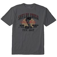 Men's Newport Blue Shelby Cobra Tee