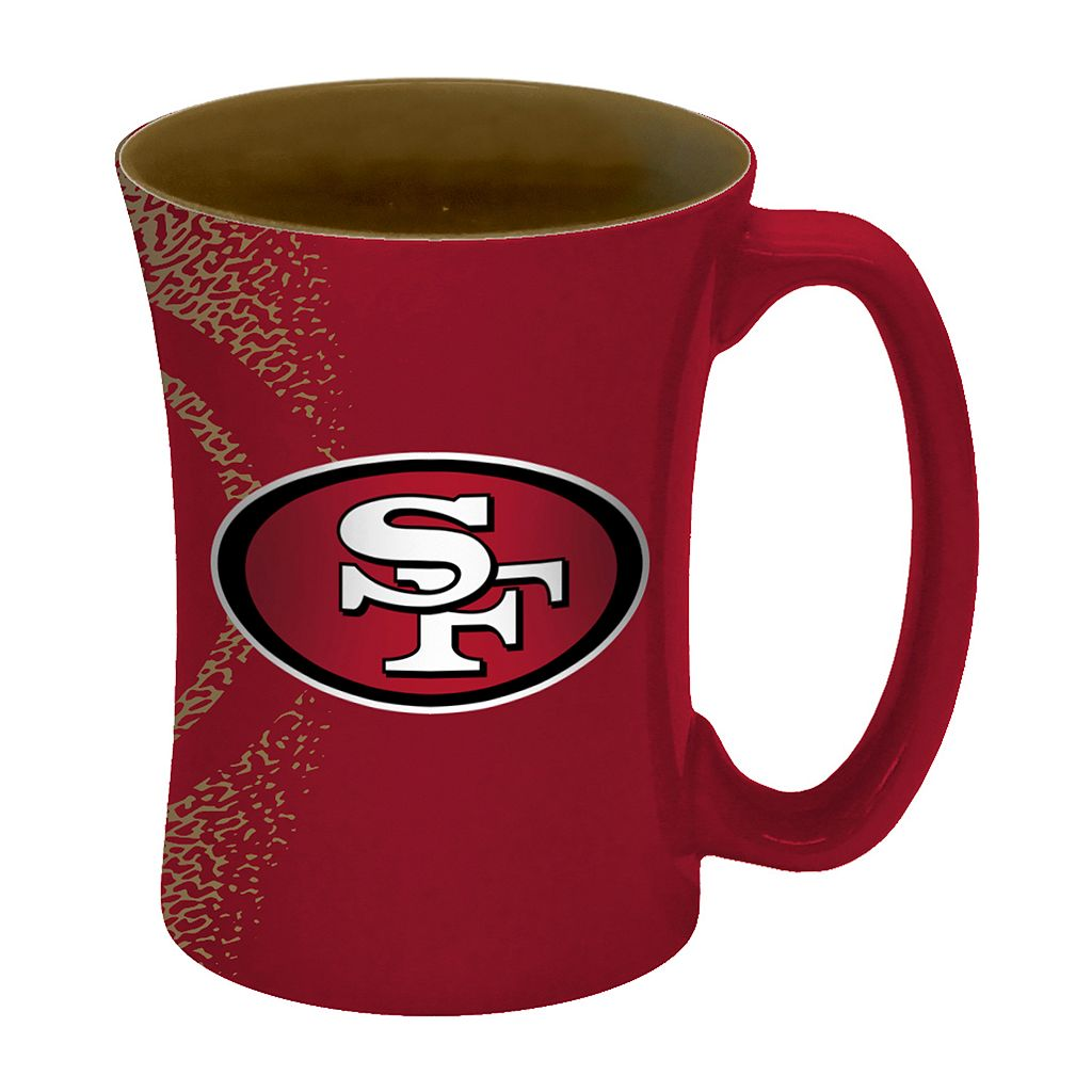 Boelter San Francisco 49ers Mocha Coffee Mug Set