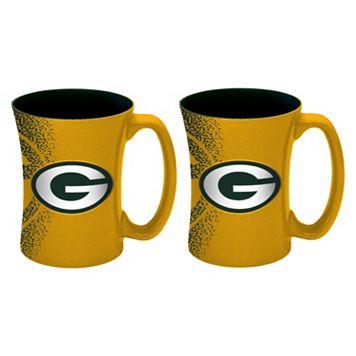 Boelter Green Bay Packers Mocha Coffee Mug Set