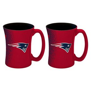 Boelter New EnglandPatriots Mocha Coffee Mug Set