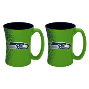 Boelter Seattle Seahawks Mocha Coffee Mug Set