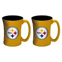 Boelter Pittsburgh Steelers Mocha Coffee Mug Set