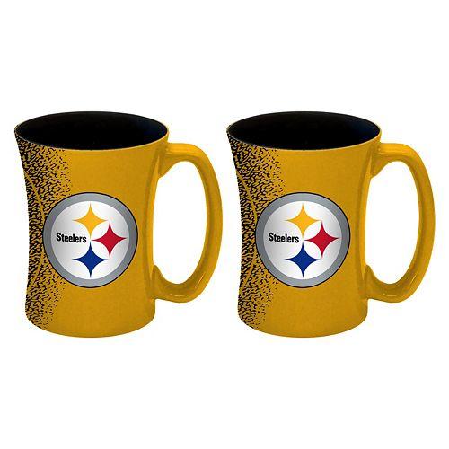 Boelter Pittsburgh Steelers Mocha Coffee Mug Set