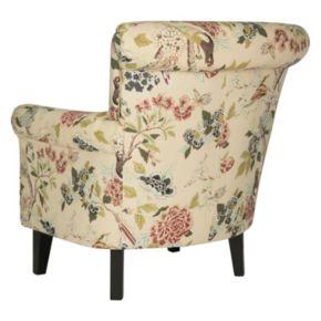 Safavieh Floral Club Arm Chair