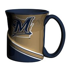 Boelter Milwaukee Brewers Twist Coffee Mug Set