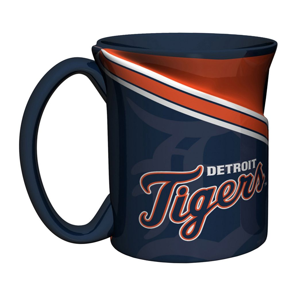 Boelter Detroit Tigers Twist Coffee Mug Set