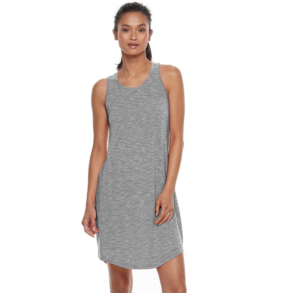 Women's Tek Gear® Pocket Ruched Back Dress