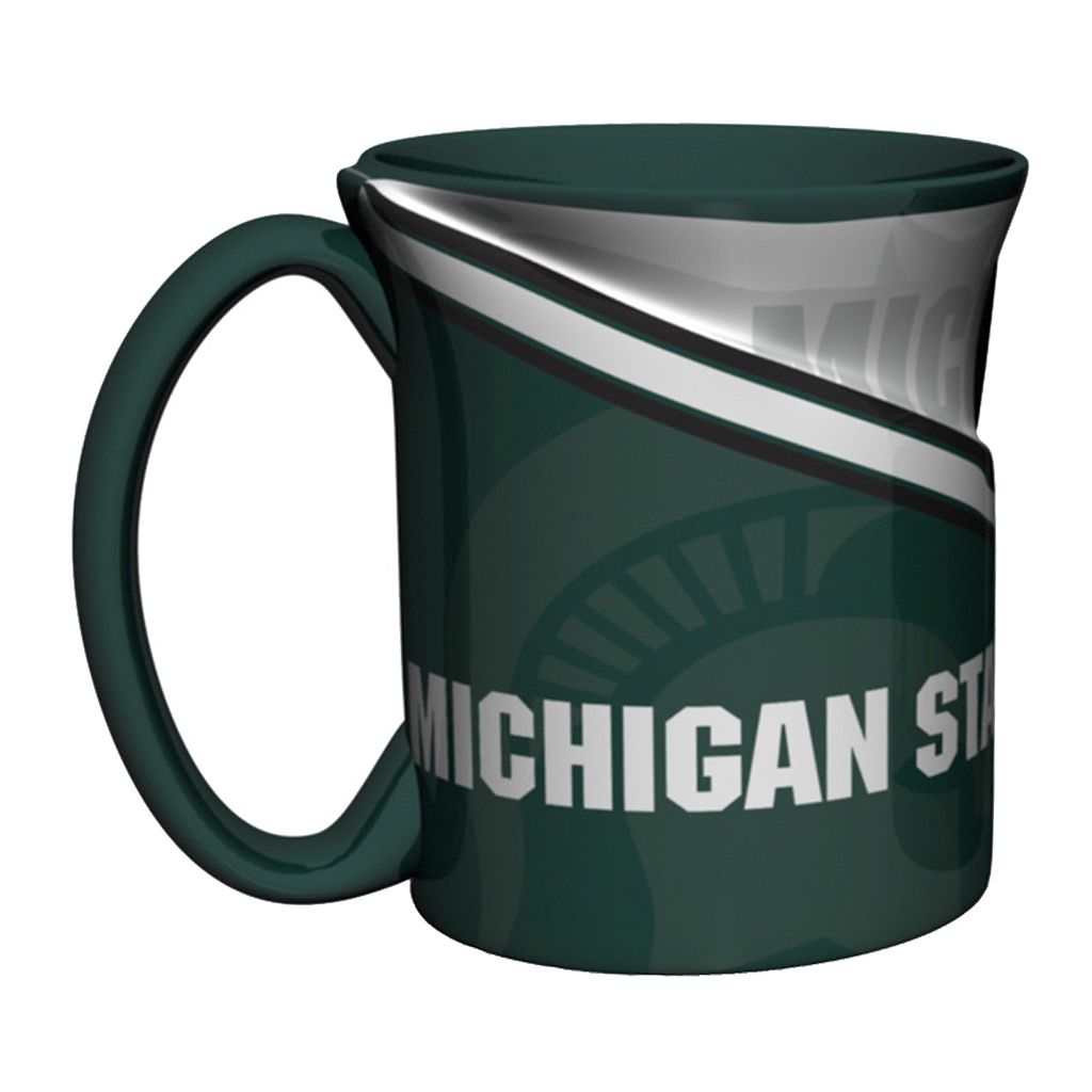 Boelter Michigan State Spartans Twist Coffee Mug Set