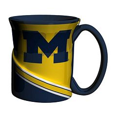 Boelter Michigan Wolverines Twist Coffee Mug Set