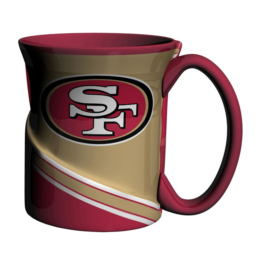 Boelter San Francisco 49ers Twist Coffee Mug Set