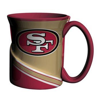 Boelter San Francisco 49ers Twist Coffee Mug Set