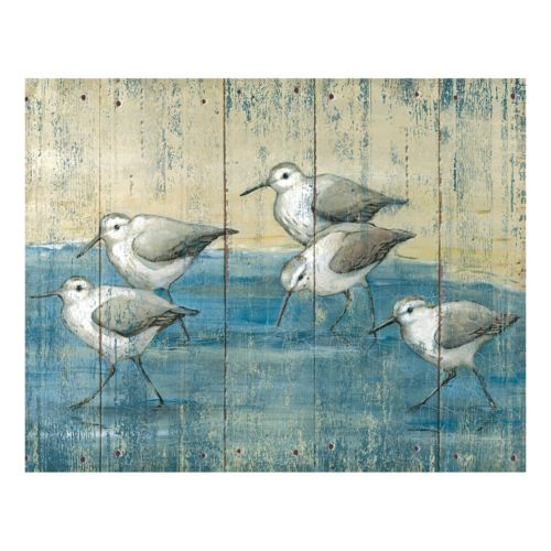 Sandpipers Canvas Wall Art