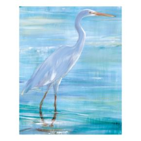 Snowy White I Canvas Wall Art