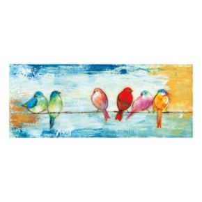 Song Birds I Canvas Wall Art