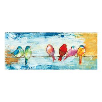 Song Birds I Canvas Wall Art