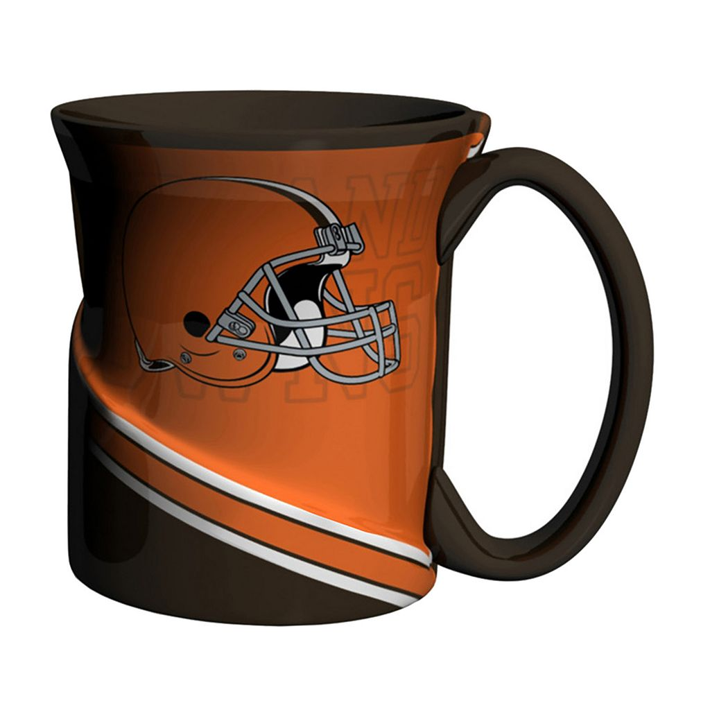 Boelter Cleveland Browns Twist Coffee Mug Set