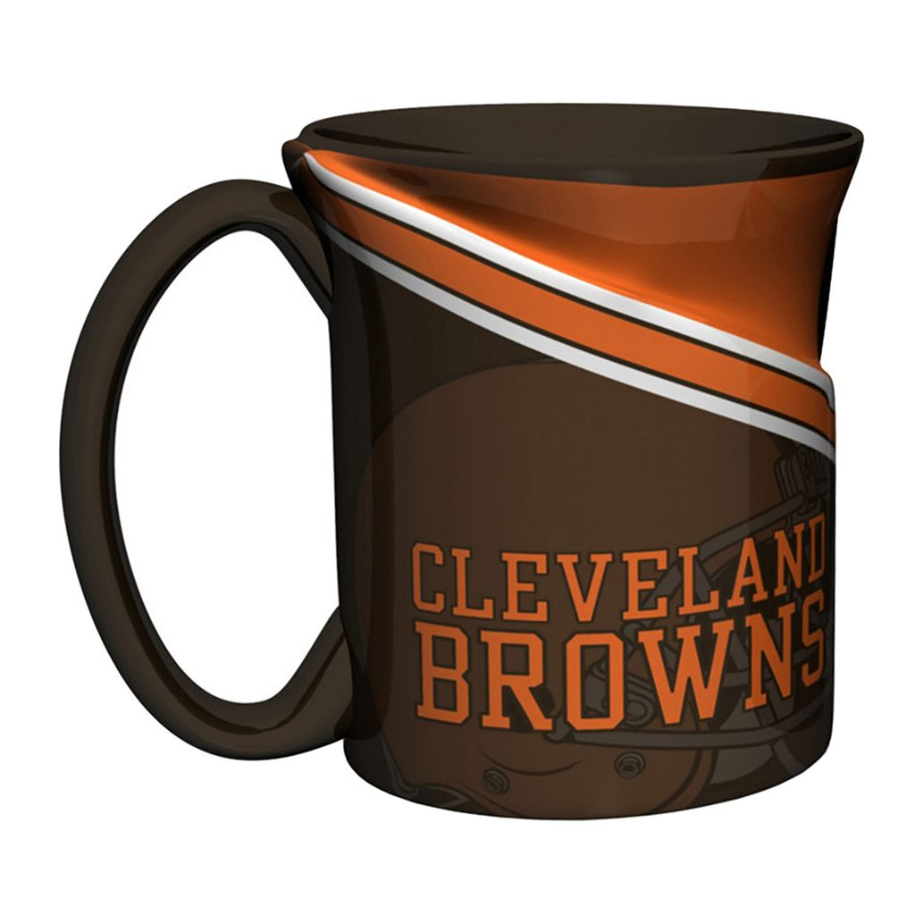 Boelter Cleveland Browns Twist Coffee Mug Set