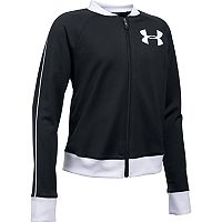 Girls 7-16 Under Armour Tricot Track Jacket