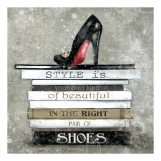 """Style Is"" Canvas Wall Art"