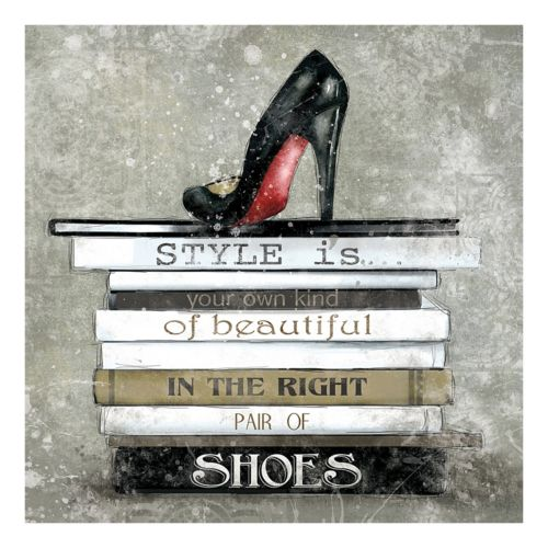 Style Is Canvas Wall Art