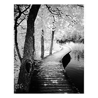 Take A Walk Canvas Wall Art