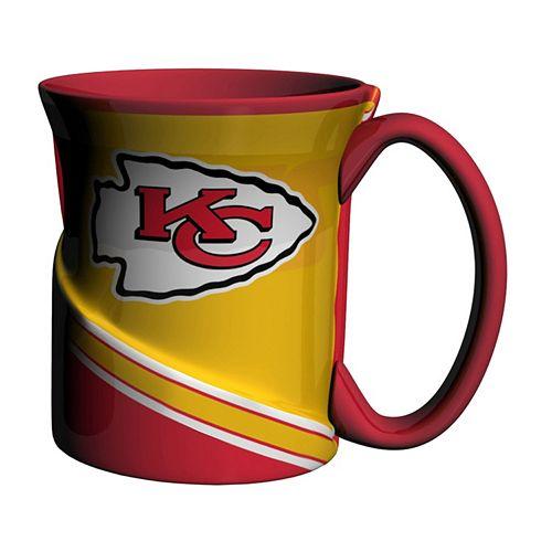 Boelter Kansas City Chiefs Twist Coffee Mug Set