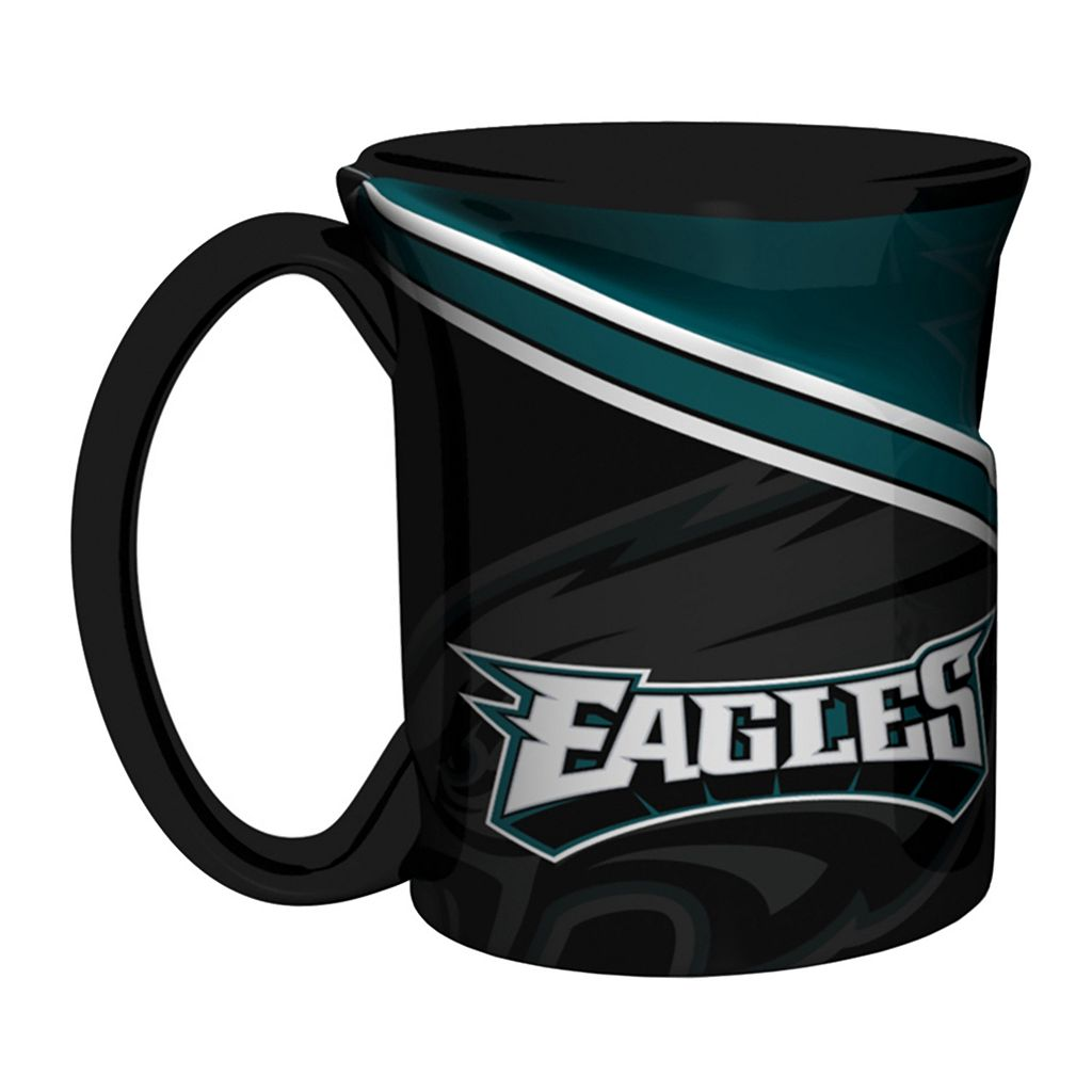 Boelter Philadelphia Eagles Twist Coffee Mug Set