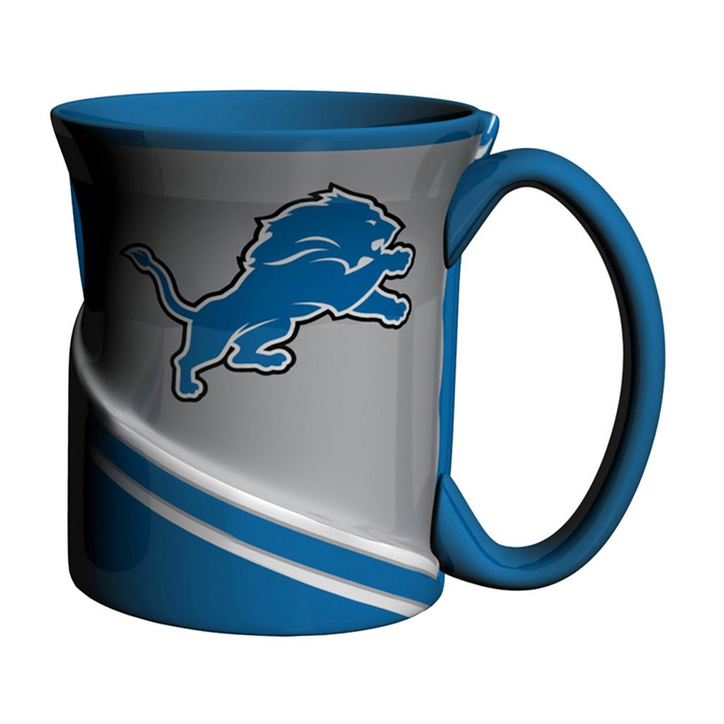 Boelter Detroit Lions Twist Coffee Mug Set