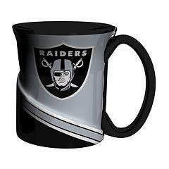 Boelter Oakland Raiders Twist Coffee Mug Set