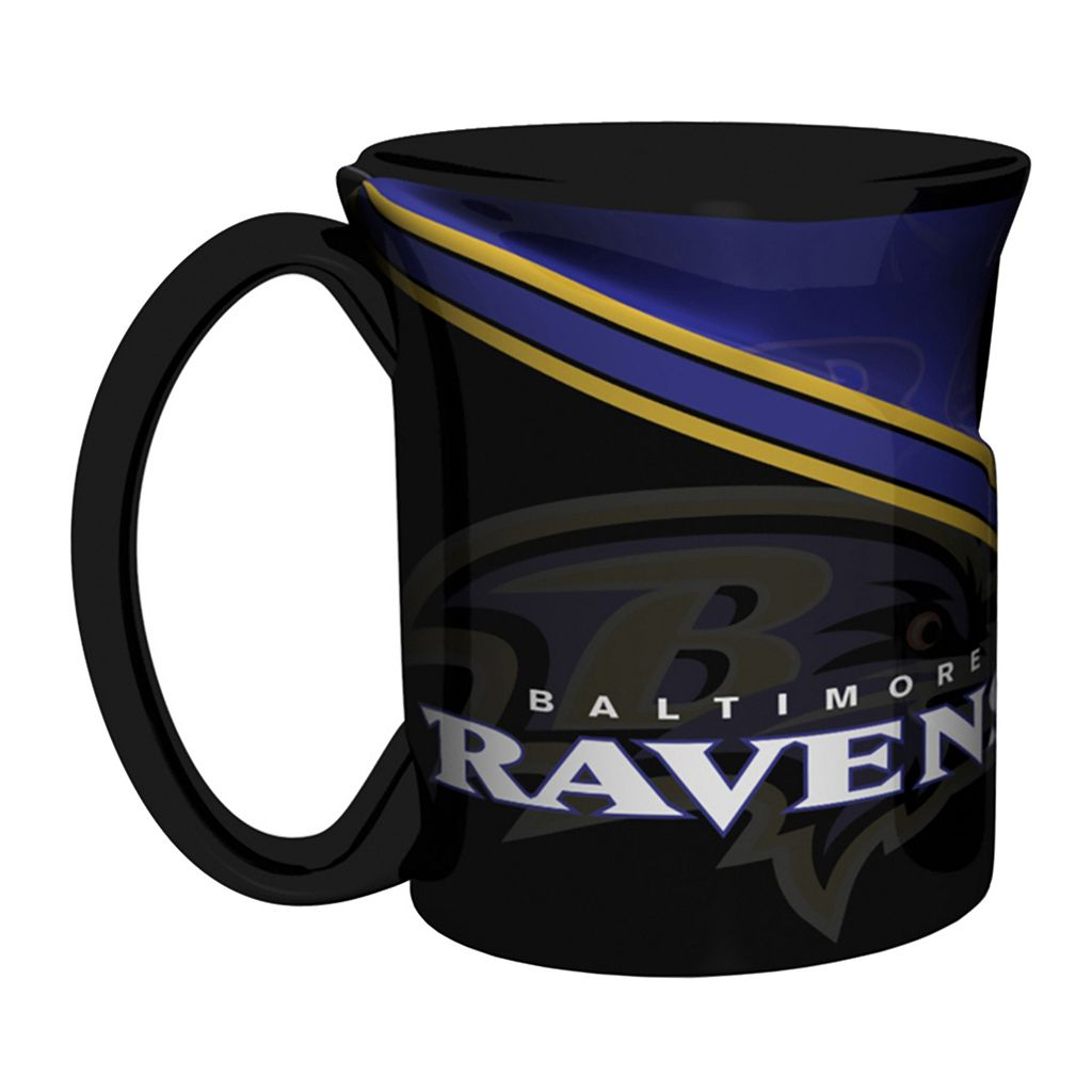 Boelter Baltimore Ravens Twist Coffee Mug Set