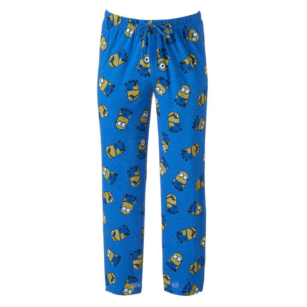 Men's Despicable Me Minion Confetti Lounge Pants