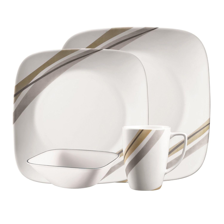 Corelle Muret 16-pc. Dinnerware Set  sc 1 st  Kohl\u0027s & Corelle Dinnerware \u0026 Serveware Kitchen \u0026 Dining | Kohl\u0027s