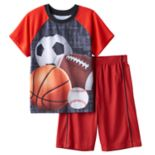 Boys Jelli Fish 2-Piece Pajama Set
