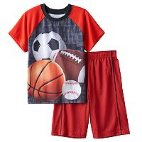 Boys Jellifish 2-Piece Pajama Set