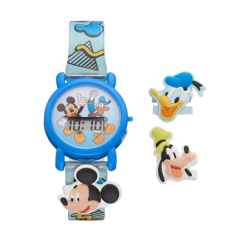 Disney's Mickey Mouse & Friends Kids' Digital Charm Watch
