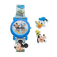 Disney's Mickey Mouse & Friends Kids' Digital Charm Watch