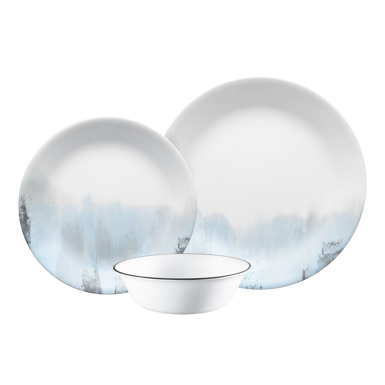 Corelle Tranquil Reflection 12-pc. Dinnerware Set  sc 1 st  Kohl\u0027s & Dinnerware \u0026 Serveware | Kohl\u0027s